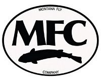 MFC Logo Sticker - Black & White Oval - 5""